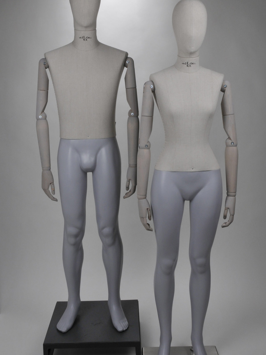 Tailor's N.Y. - Paspop - Mannequin - Vintage